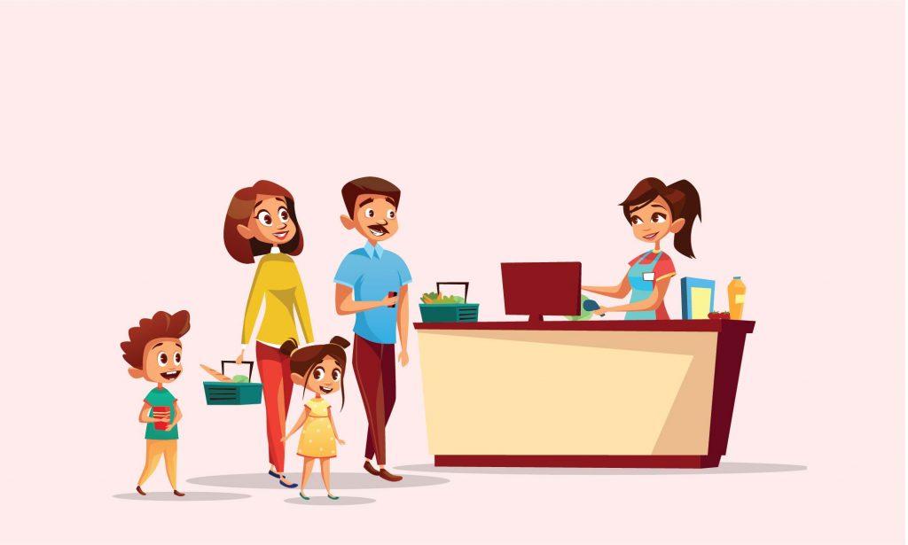 Asyiknya ke Supermarket dengan Papa-Mama