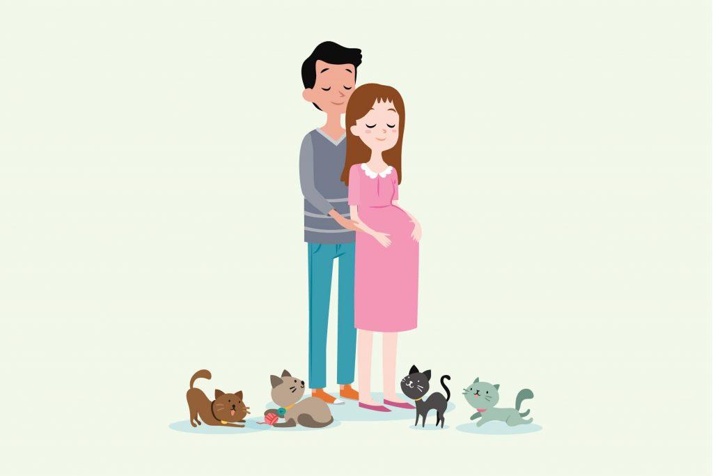 Ibu Hamil, Boleh Tidak Pelihara Kucing?
