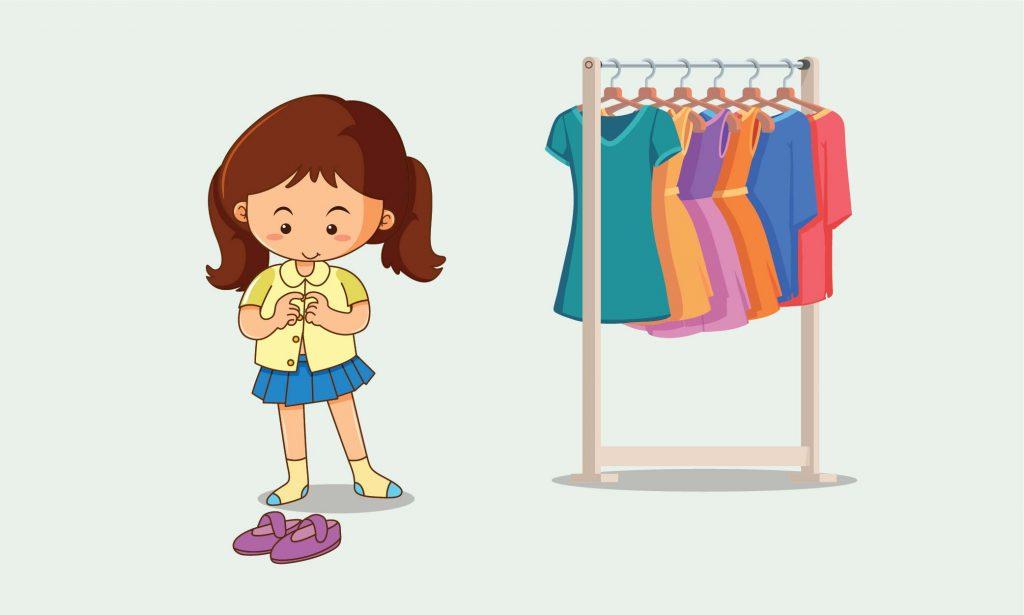 Kapan Anak Belajar Memakai Pakaian sendiri?