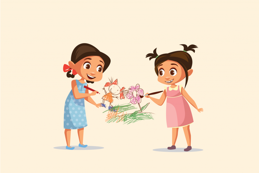 5 Manfaat Menggambar bagi Anak