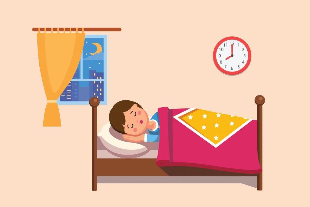 Jam Tidur yang Ideal bagi Anak