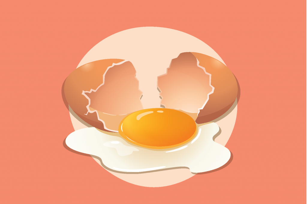 Bumil Makan Telur Setengah Matang, Amankah?