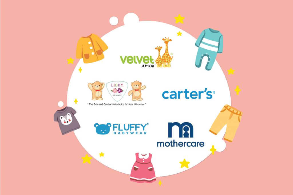 Rekomendasi Merk Pakaian Bayi Baru Lahir