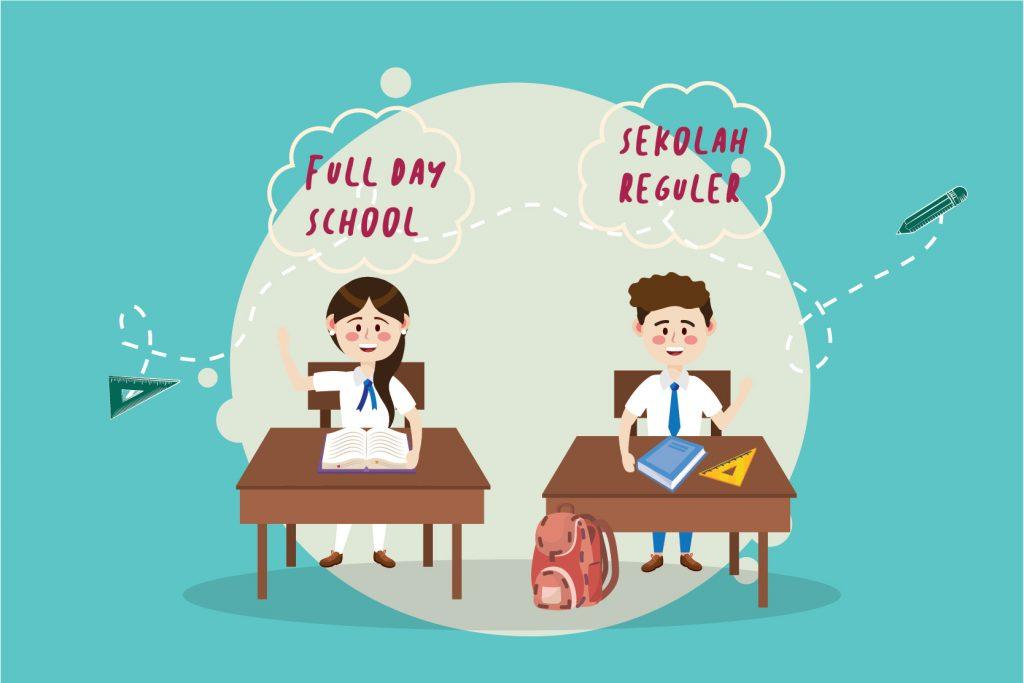 Pilih Full Day School atau Sekolah Reguler?