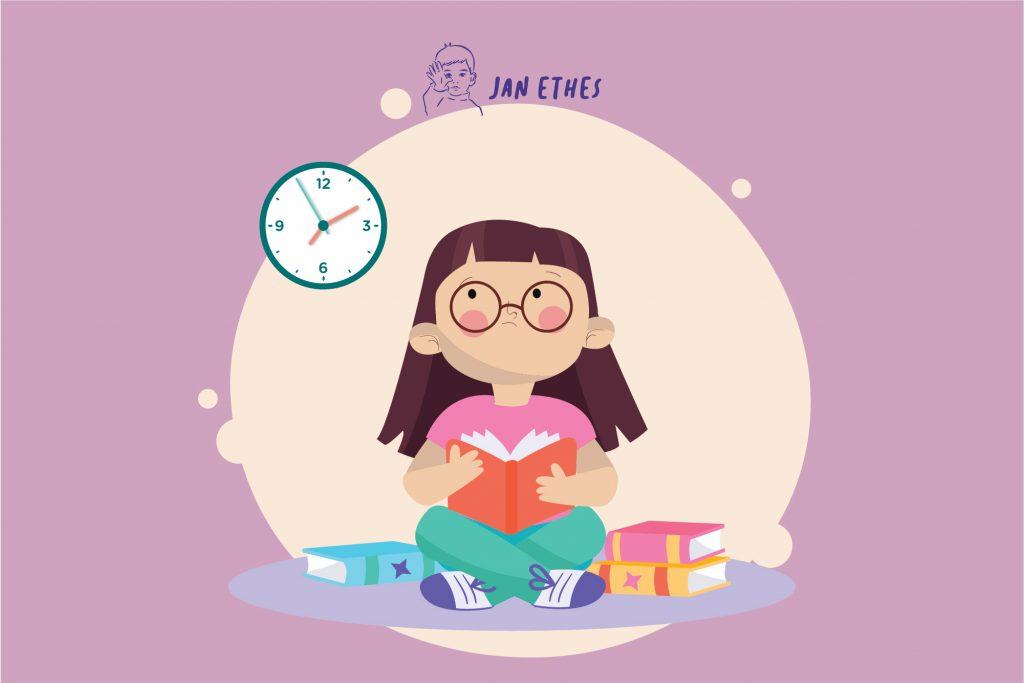 Tips Mengatur Jam belajar Anak
