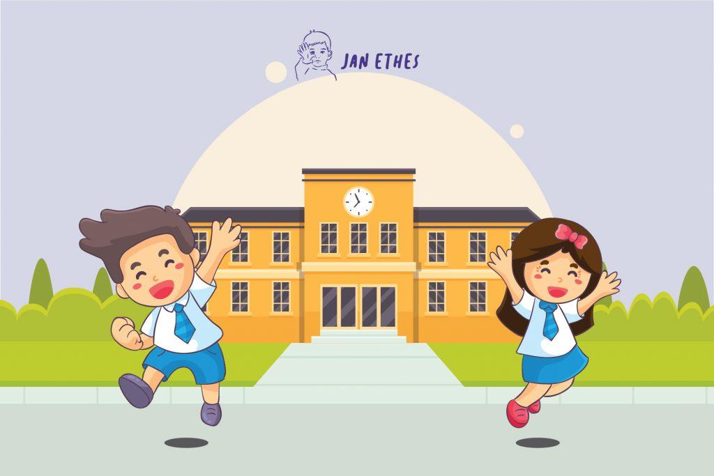 Menjaga Anak Agar Tetap Semangat Sekolah