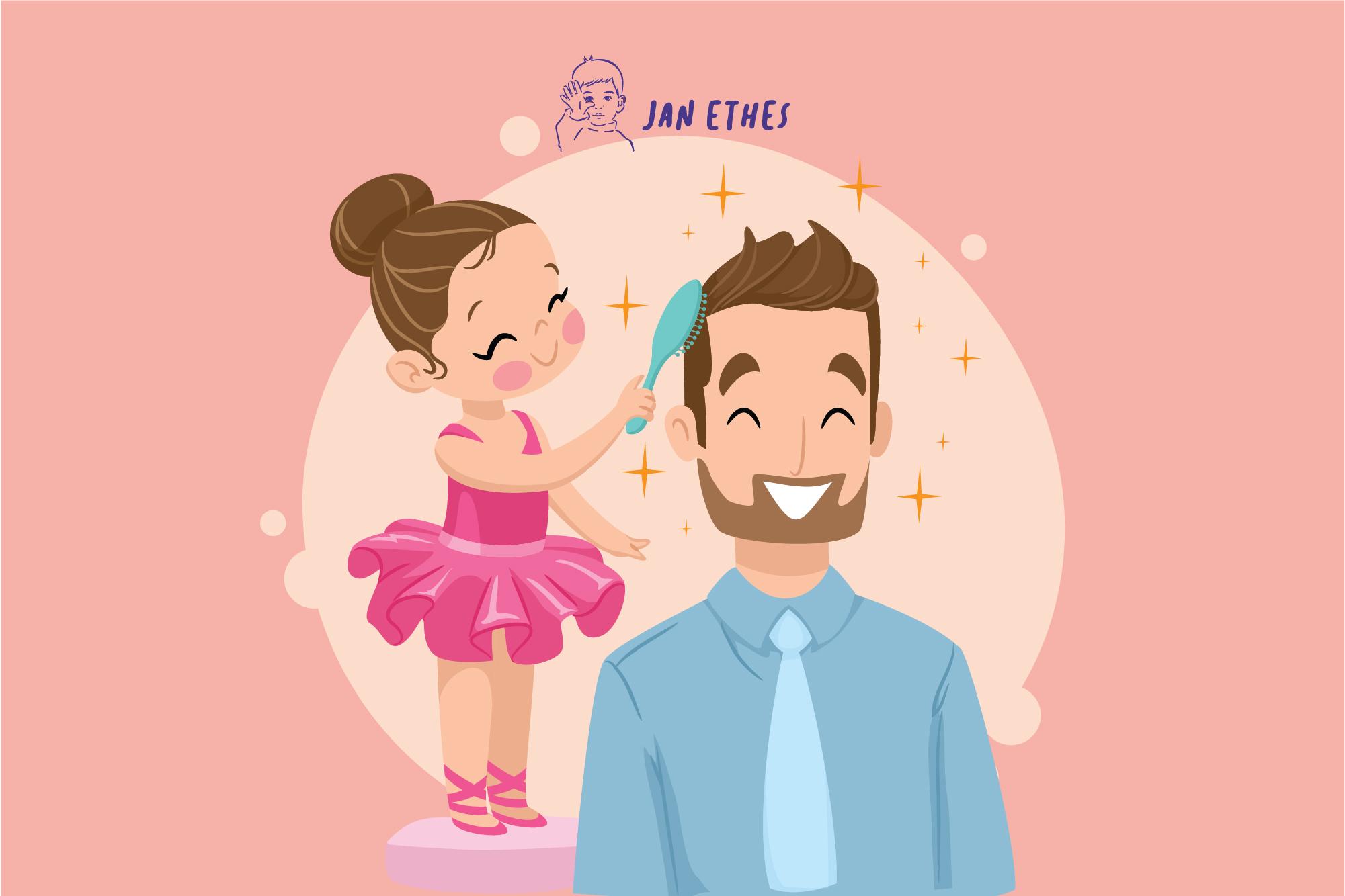 Hal Kecil Yang Membangun Bonding Ayah Dengan Anak Perempuan Janethes