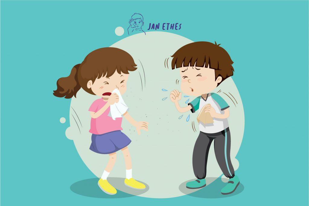 Anak Gampang Bersin dan Pilek, Bisa Jadi Rhinitis