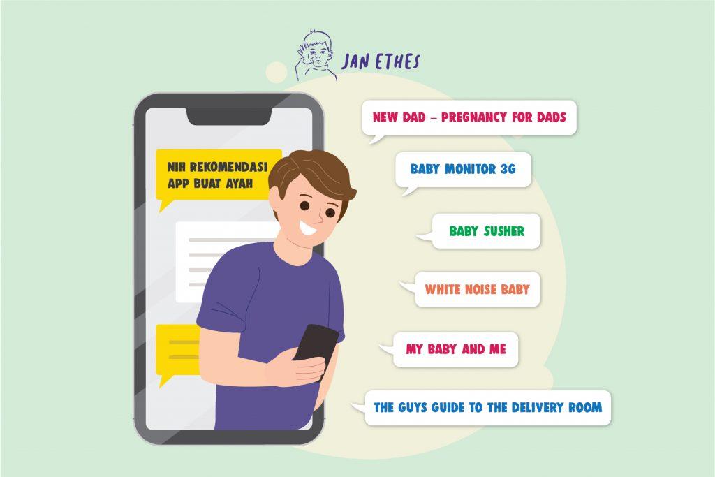 Aplikasi Smartphone untuk Ayah Hebat