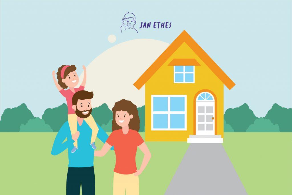 Tips Agar Anak Nyaman di Rumah Baru