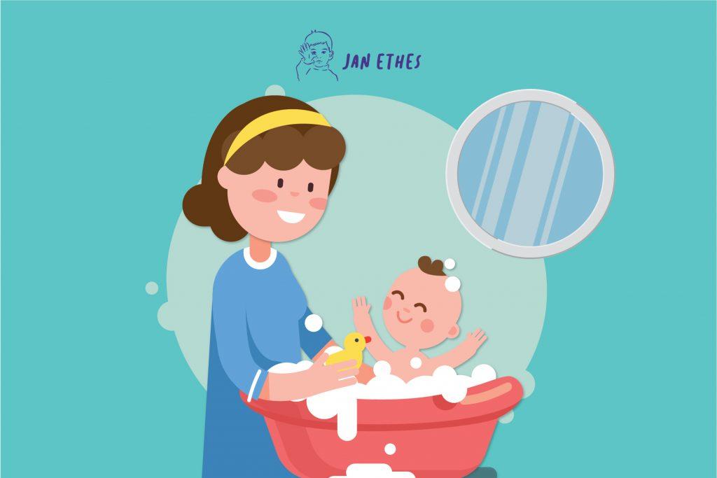 Takut Memandikan Bayi? Coba Langkah Mudah Ini