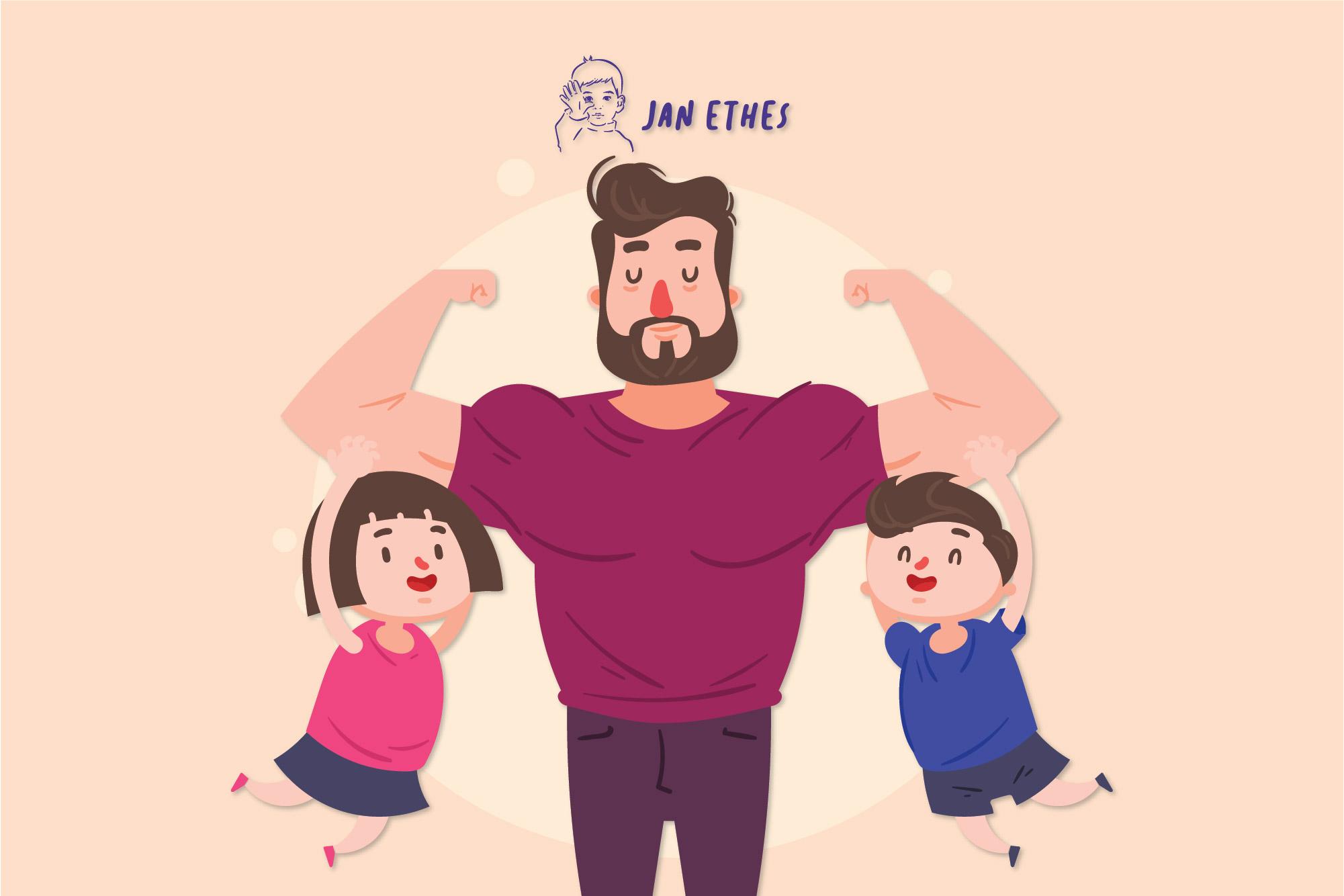 Penting Bangun Bonding Antara Ayah Dan Anak Ini Caranya Janethes
