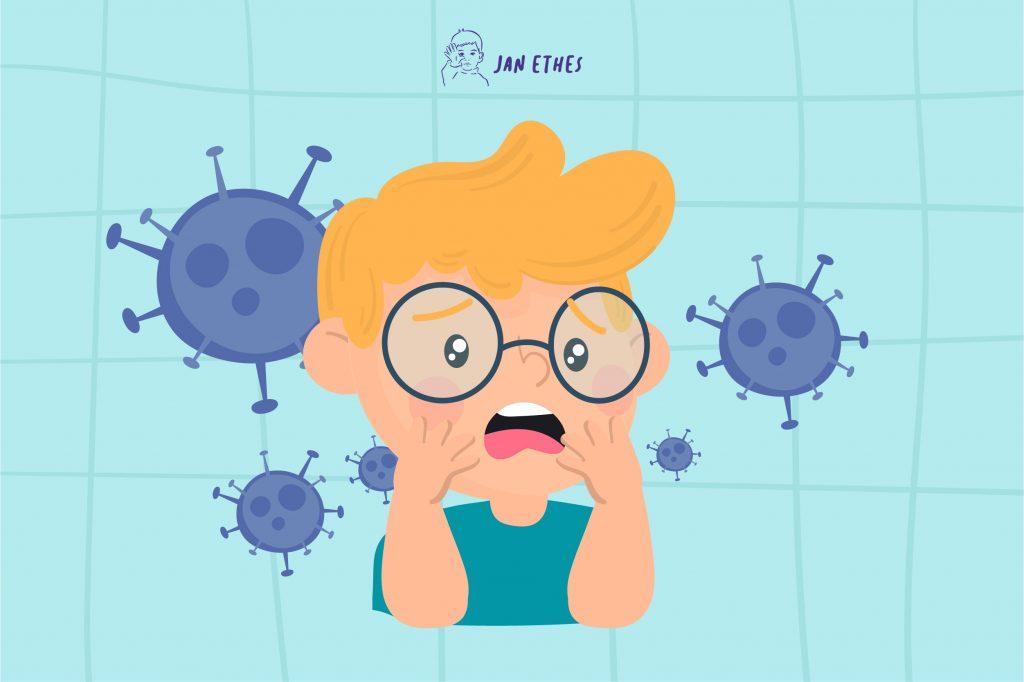 Anak Panik Soal Virus Corona? Tenangkan dengan Cara Ini