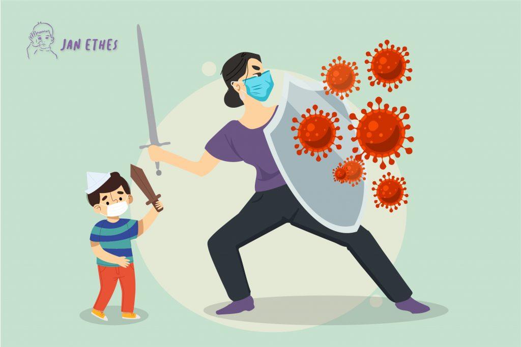 Lindungi Anak Saat Pandemi dengan Cara Ini