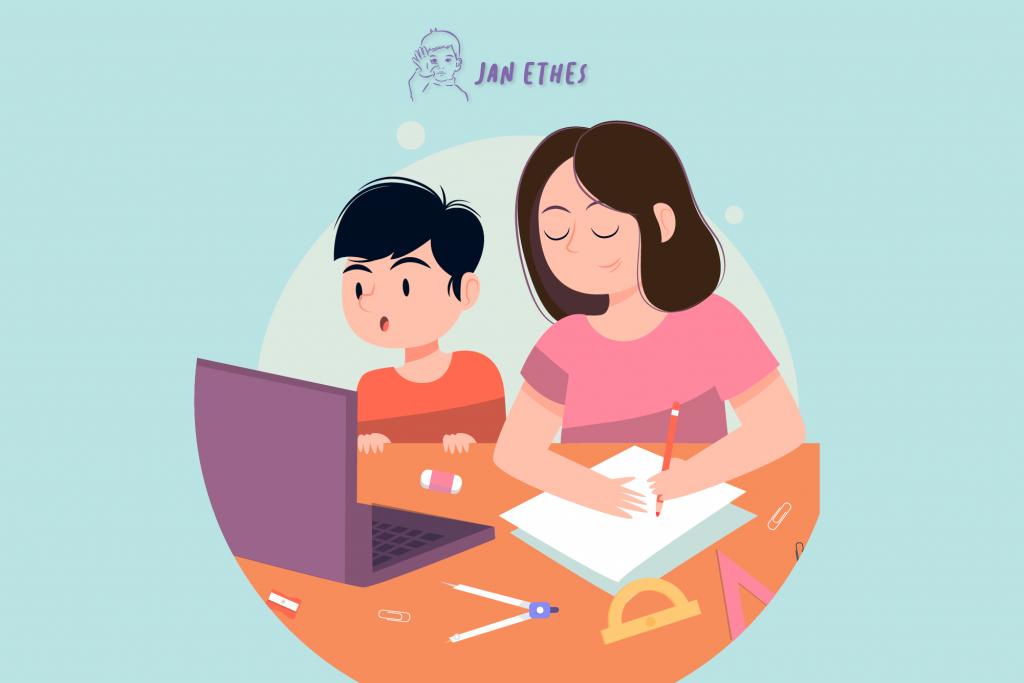 Kiat Sukses Mendampingi Anak Belajar di Rumah