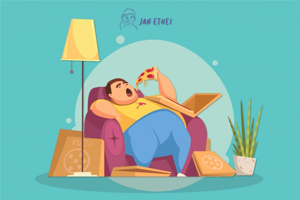 Ancaman Obesitas karena Terlalu Lama Berdiam Diri di Rumah