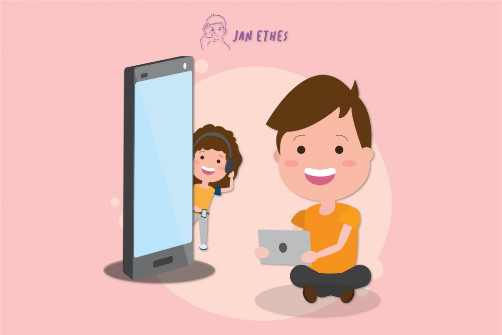 Ini, Lho… Durasi Aman Penggunaan Gadget untuk Anak