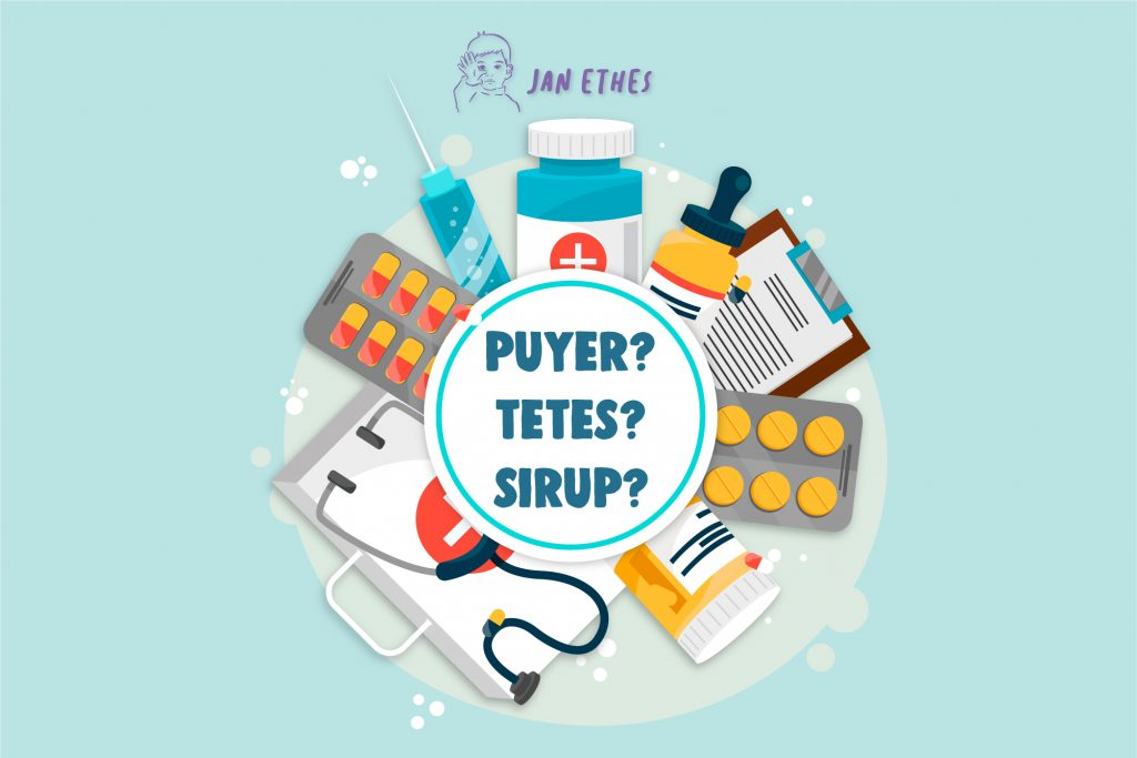 Plus-Minus Obat Puyer, Tetes dan Sirup untuk Anak