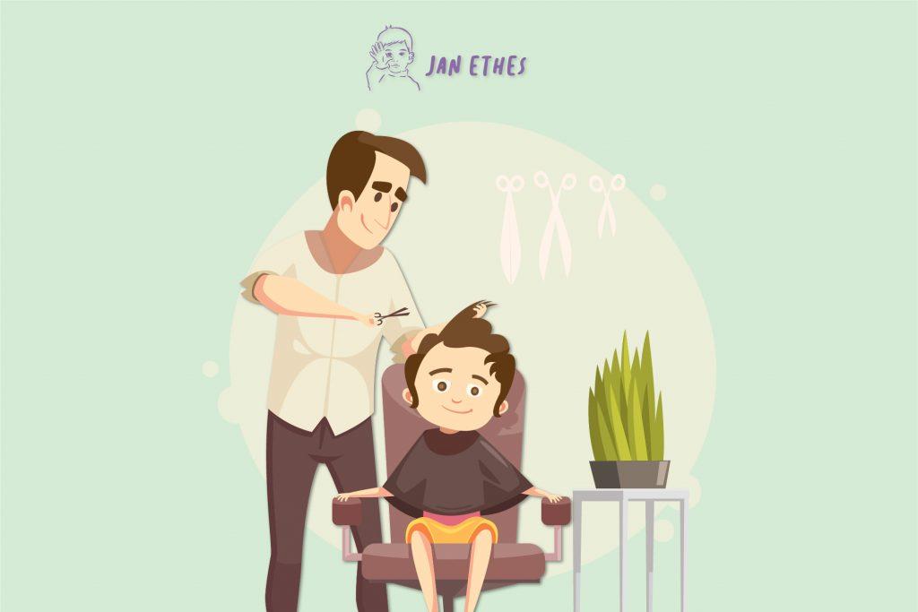 Tips Potong Rambut Anak Sendiri di Rumah
