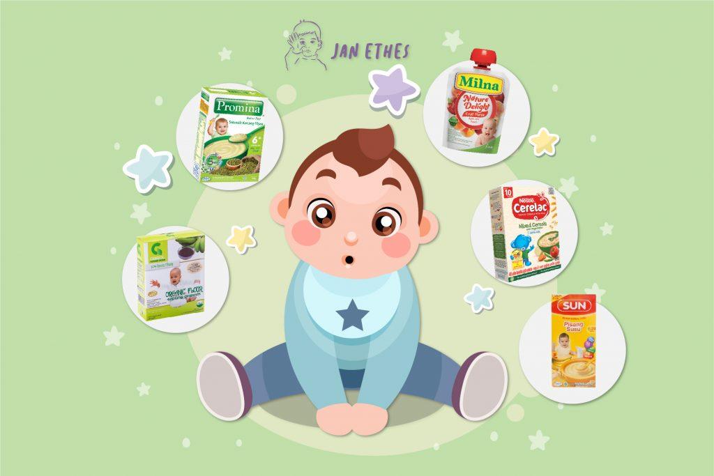 Pilihan Bubur Bayi untuk Buah Hati