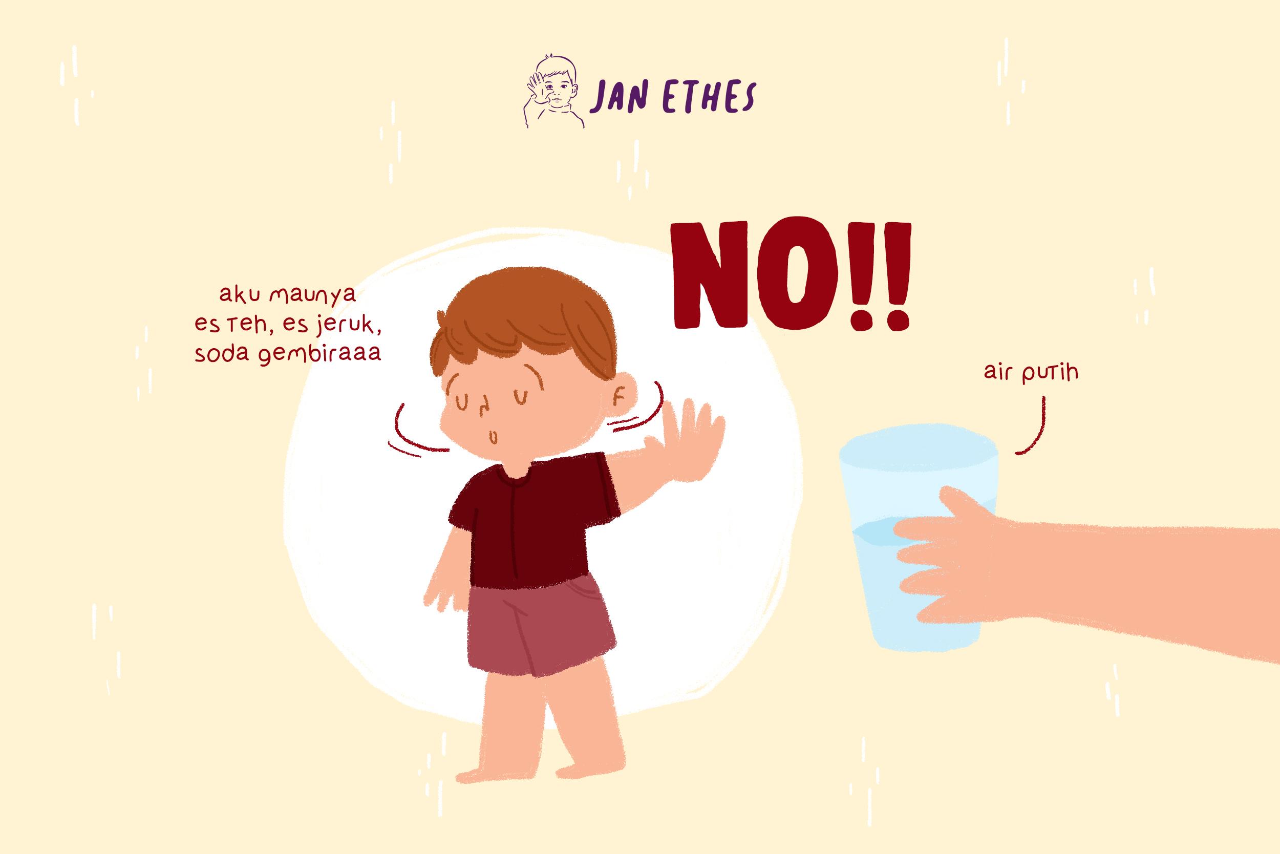 Anak Tak Suka Minum Air Putih? Coba Tips Ini Yuk!