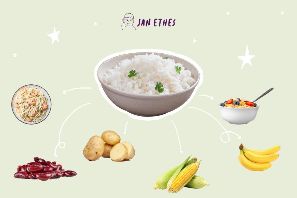 Anak Tidak Suka Makan Nasi? Makanan Ini Bisa Jadi Gantinya