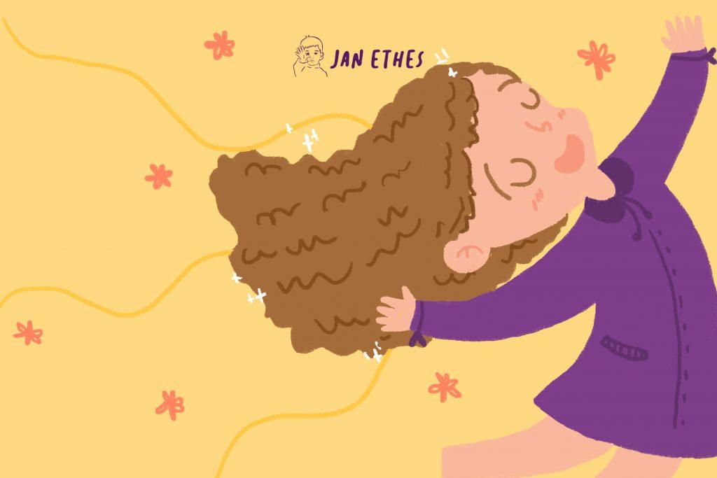 Merawat Rambut Keriting Anak agar Tetap Sehat
