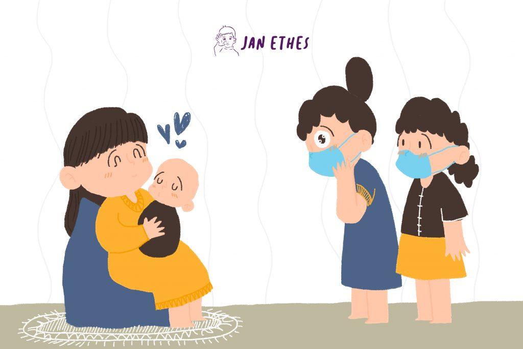 Hati-hati Menjenguk Bayi Baru Lahir saat Pandemi, Ini etikanya