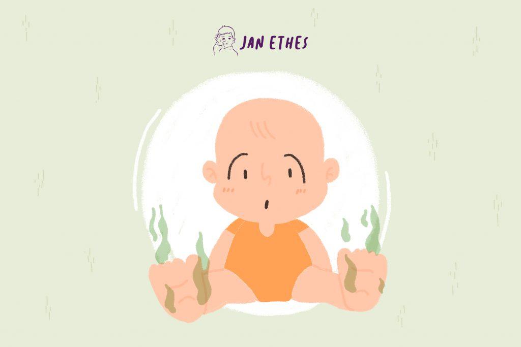 Normalkah Bau Tak Sedap pada Kaki Bayi?