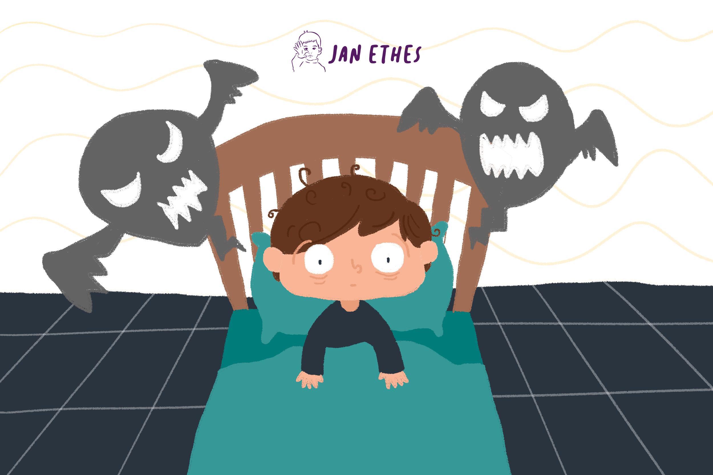 Si Kecil Terbangun Tengah Malam karena Mimpi Buruk? Begini Mengatasinya